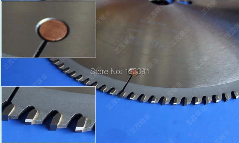 Promotion sale quality 505*4.4*30*120Z tct saw blades for aluminum alloy doors/windows/curtain/wall/tube/rod wire/soft metal