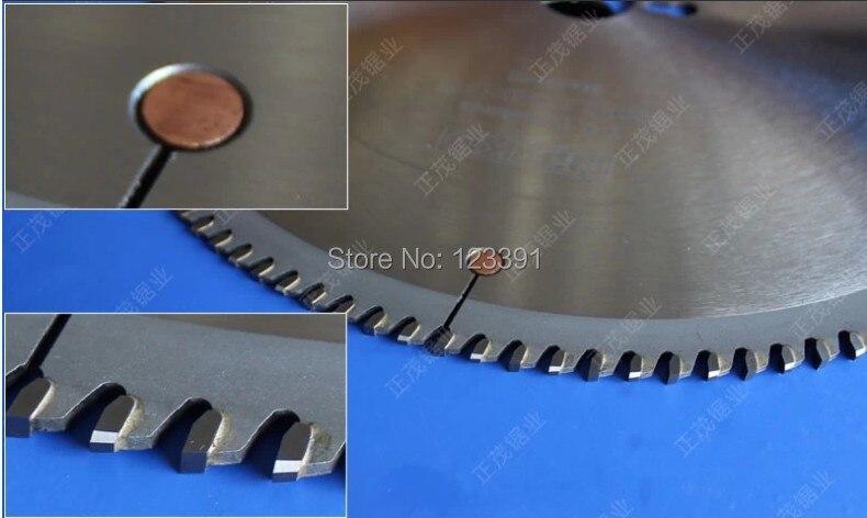 Promotion vente qualité 505*4.4*30 * 120Z tct lames de scie pour portes en alliage d'aluminium/fenêtres/rideau/mur/tube/fil de tige/métal souple