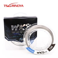 TSURINOYA WK8 PE Line 8 Strands Braided Fishing Line 150m 0.8# 2.5#/ 16 45lb Multilament Fishing Wire Linha De Pesca Pescaria