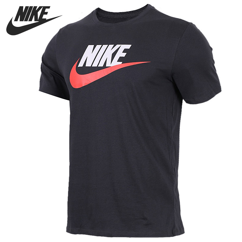 Original New Arrival  NIKE AS M NSW TEE ICON FUTURA Men's T-shirts short sleeve Sportswear