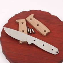 Stainless Steel knife blade blanks Classic Hunting DIY kits fixed 57HRC camping