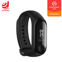 Global Version Xiaomi Mi Band 3 Smartband Bracelet Smart Watch Wristband Touchpad Sleep Monitor Heart Rate Band3 For Mi8 Mix 3