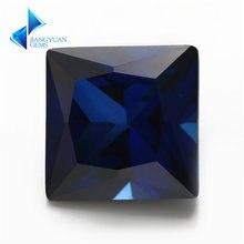 Заводская цена размер 3x3 ~ 8x8 мм квадратный вырез 34 # камень
