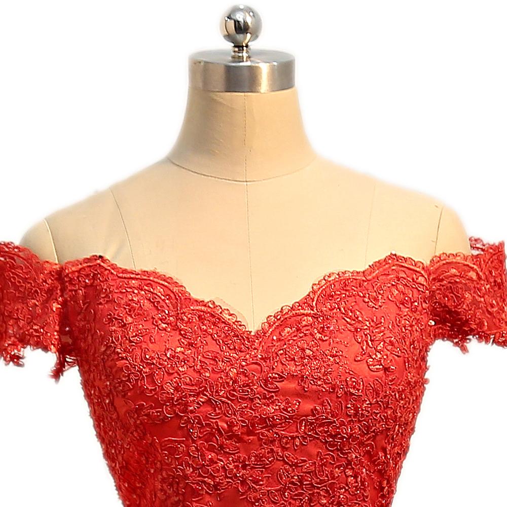 V-neck Cap Sleeves Satin Lace Long Mermaid Bridesmaid Dress