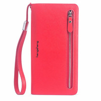 2016 New fashion women wallet leather brand wallets women wholesale lady purse High capacity clutch bag for women gift