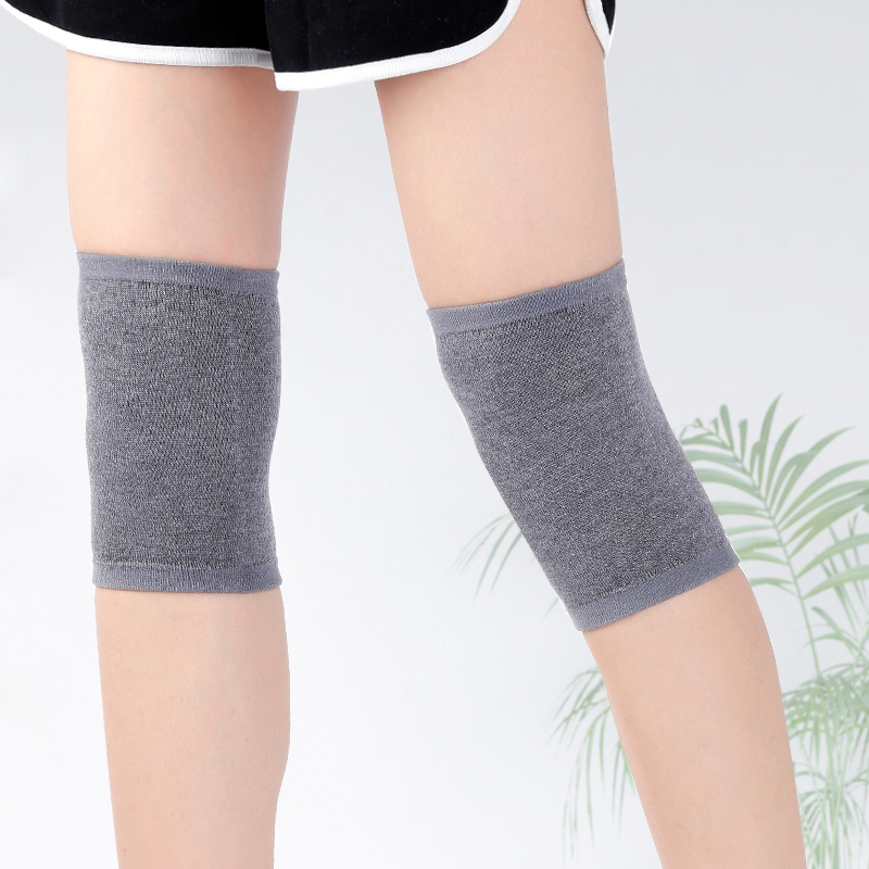 Wool Knee Sleeve Winter Warm Knees Wool Knitted High Kneecap Light Weight Knee Protectors Leg Warmers All Season Solid Coldproof