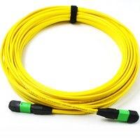 MPO/MTP(Female) MPO(Female) APC Singlemode OS1 12strands Fiber optical cable for QSFP+LR module