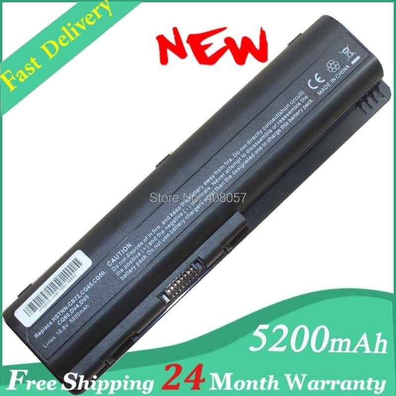 Аккумуляторная Батарея для HP Compaq Presario CQ60 CQ70 dv5 <font><b>dv6</b></font> hstnn-ib73 hstnn-xb73 hstnn-lb72 Бесплатная доставка