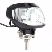 Universal 20W 6000K LED Motorcycle Headlight Lamp RTD Auto Motorcycle LED Projector with USB Super Bright Eye-catching