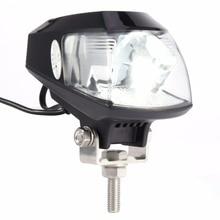 Универсальный 20 Вт 6000 К светодиодный мотоцикл лампы фар RTD Авто Мото светодиодный проектор с USB супер яркий глаз- эффектный