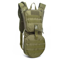Men Tactical Backpack Military Water Bag Pack Camping Camelback Nylon Camel Water Bag Hydration for Cycling Hunting Outdoor