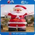 6mH Гигантский Надувной Дед Мороз, CE/UL Воздуходувки, Открытый Надувные Рождество Рекламное Оформление