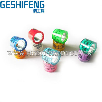 500pc free shipping ring bands 2015 custom pigeon rings