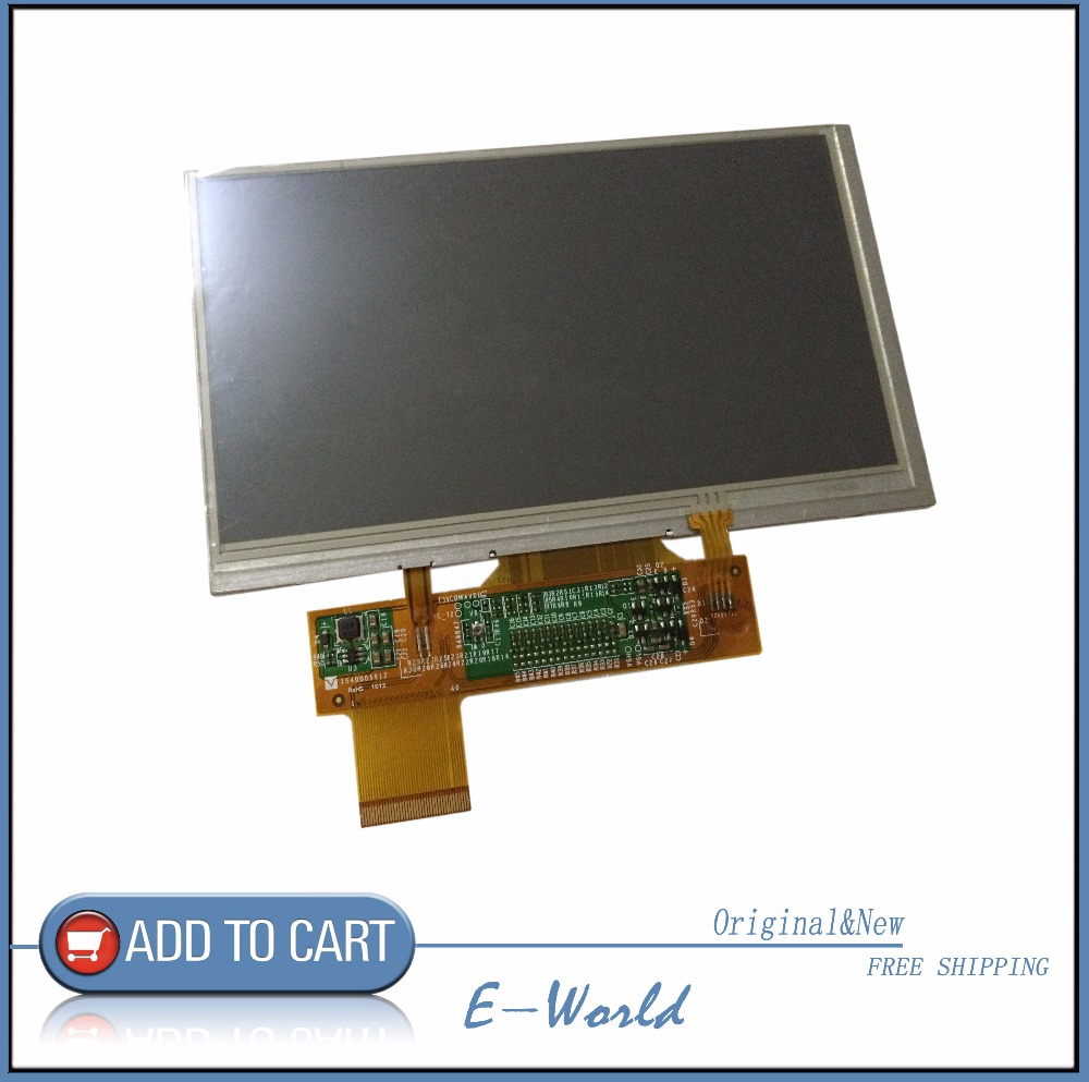 Original and New TIANMA 6inch TM060RDH02 LCD screen with touch panel for Newsmy S6000TV GPS Tablet PC MID free shipping