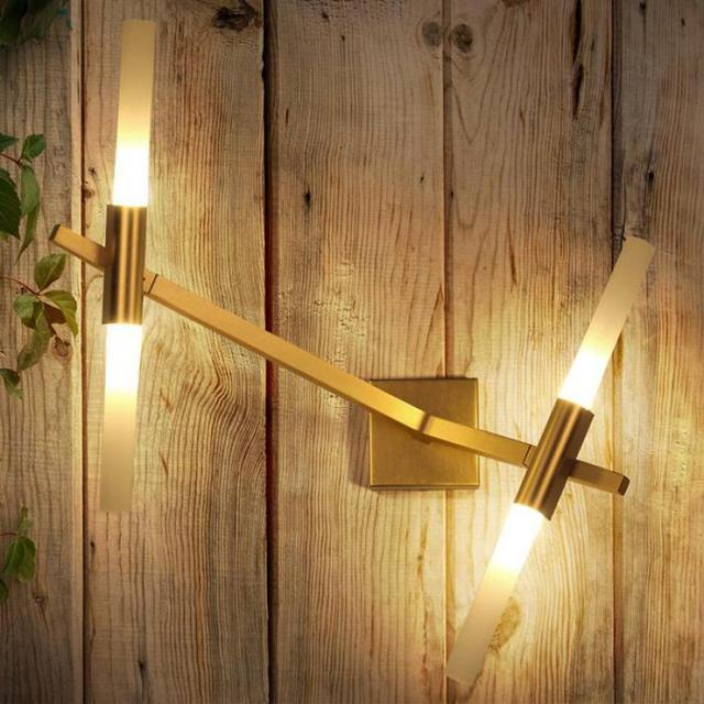 Xmas G4 Led holiday door light 2-4 antlers gold brown wall sconce Christmas decorative Wall Lamp Restaurant Bar indoor Lighting