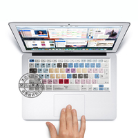 Avid Medio Composer Shortcut Keys Silicone Soft Keyboard Cover Skin Sticker For Apple Macbook Air Pro