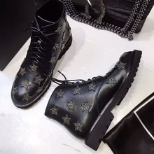2016 New Original Quality Sexy Genuine Leather Lace Up Women Bootie Round Toe Women Ankle Boots Shoes Women