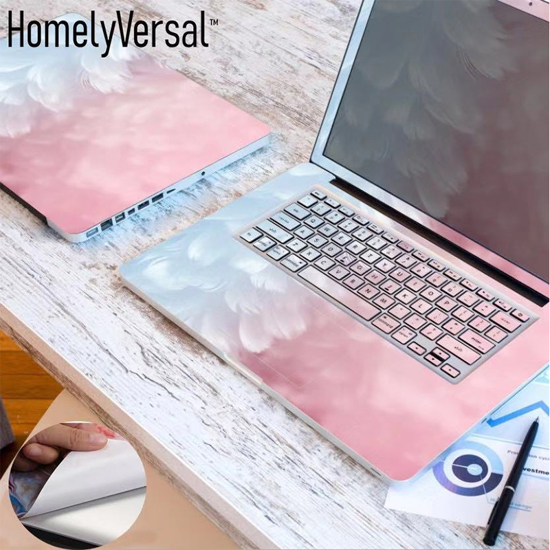 Laptop Sticker Cover Skin-Inch Hp/asus-Size Three Cute For From-11'-17' Sides