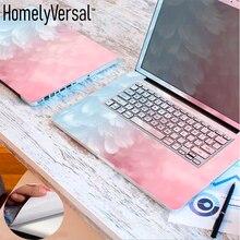 Симпатичные три стороны ноутбук кожи дюймовый ноутбук наклейка крышка для Dell/lenovo/MacBook/acer/hp/Asus размер от 11'-17'
