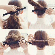 New Hair Making Tool Pearl Sponge Hair Styles Maker Tress Tool Hair Accessories Bands DIY Bun Magic Bud For Women рюкзак wenger 3053344402 серый синий 14л