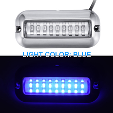 Universal 3.5inch 12V DC White/Blue/Green 27 LED Marine Stai