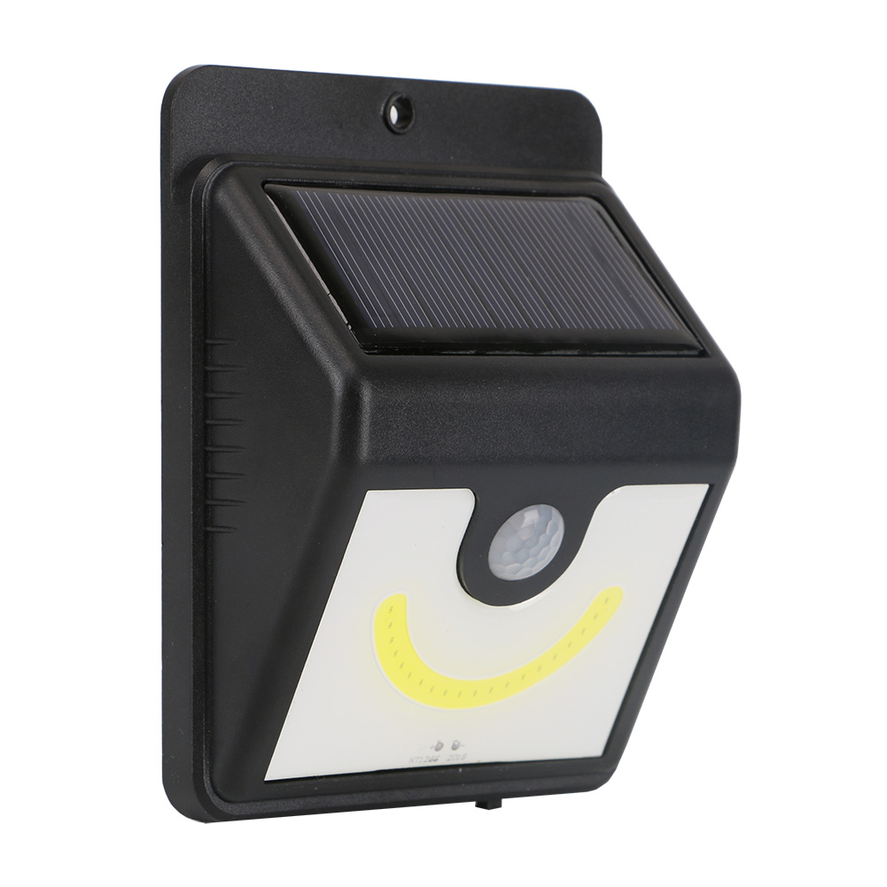 PIR Motion Sensor Solar Light Outdoor Garden Security Lamp Waterproof IP64 LED Wall Street de leds Solar Lampada bombilla