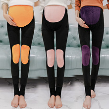 NEW Warm palace knee pads Maternity Leggings Pants Pregnant Women Winter Thickening Pregnancy Trousers Clothing