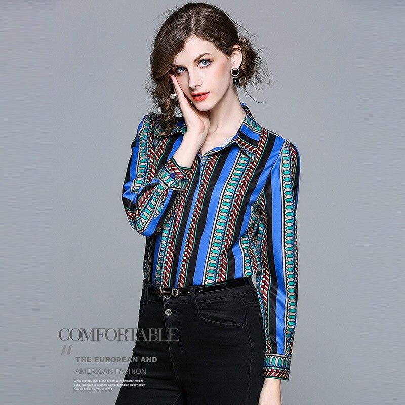 930bc0c873ac Nouvelle Soie Pour Manches Bureau De Chemises Automne Bleu Wear En Mode  Printemps 2018 Willstage Blouse Work Femmes Longues Dames Blusas Ol  Mousseline q5tZ5
