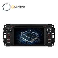 Ownice C500 Android 6.0 8 Rdzeń Samochód DVD GPS Navi Radio dla Jeep Commander Compass Wrangler Grand Cherokee DODGE Caliber 4G LTE