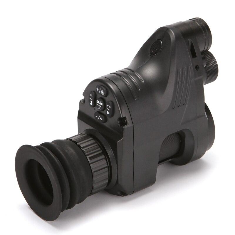 PARD NV007 200 м Инфракрасный ночного видения телескоп Охота ночное видение набор прицел цифровой ИК Монокуляр прицел день и ночь