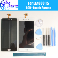 LEAGOO T5 LCD Display Touch Screen 100 Original Tested LCD Digitizer Glass Panel Replacement For LEAGOO