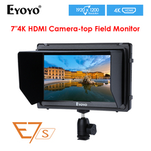 E7S 7 Inch IPS 1920x1200 HDMI On Camera Field Monitor Support 4K Input Output Video Monitor for DSLR Canon Nikon Sony viltrox dc 70pro 7 inch field monitor hd camera video 4k monitor hdmi sdi av input 1920x1200 for canon nikon pentax sony dslr