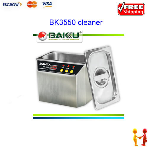 FREE SHIPPING !!! Ultrasonic Cleaner BK-3550 ,Baku-3550 110v and 220v for option free shipping kylin bell ultrasonic cleaner serise please contact me for the price