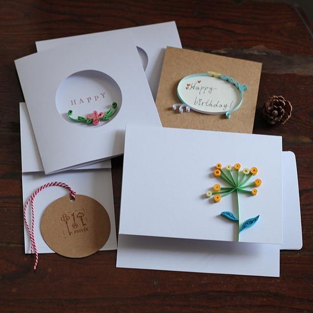 Diy Gift Card Diy Blank Wedding Card Set Yan Paper Origami Cards