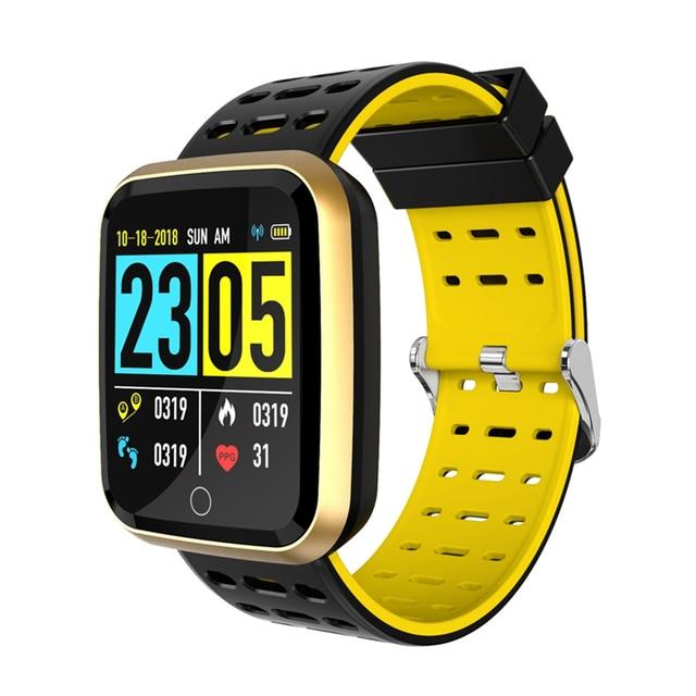 Bakeey N99 Smartwatch Men Women 1.3 IPS Big Screen Custom Interface HR Blood Pressure Caller ID Display Smart Watch