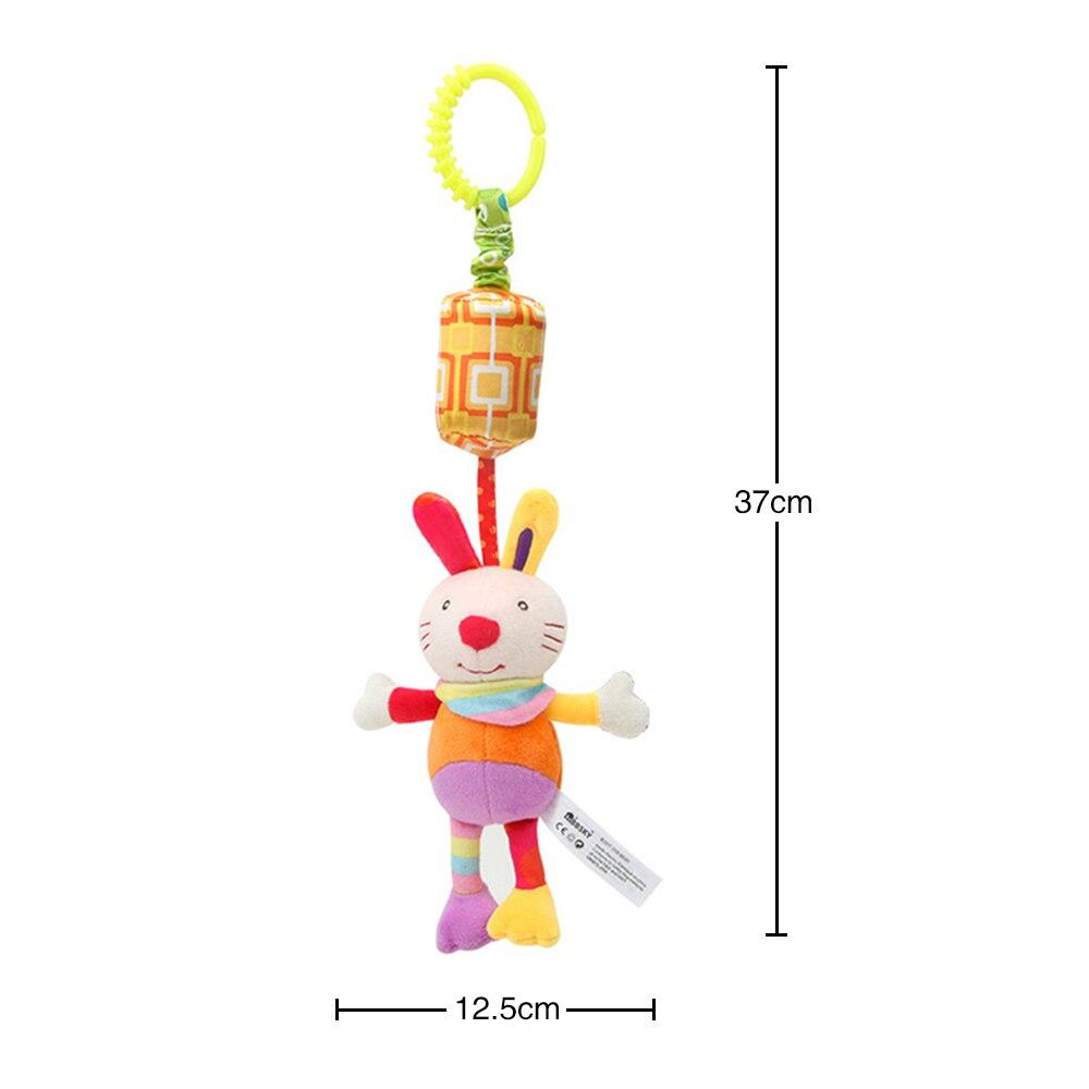 Детские погремушки Fulljion, развивающие игрушки для детей, Прорезыватель для зубов, Колокольчик для малышей, детская коляска, подвесные куклы - Цвет: rabbit
