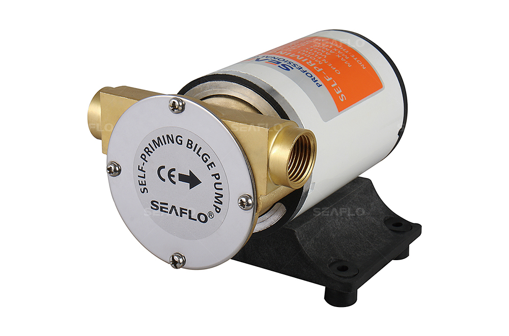 SEAFLO 8GPM 30LPM Self priming Centrifugal Impeller Bilge Pumps Marine RV new seaflo 12v self priming bilge pumps 8gpm 30lpm