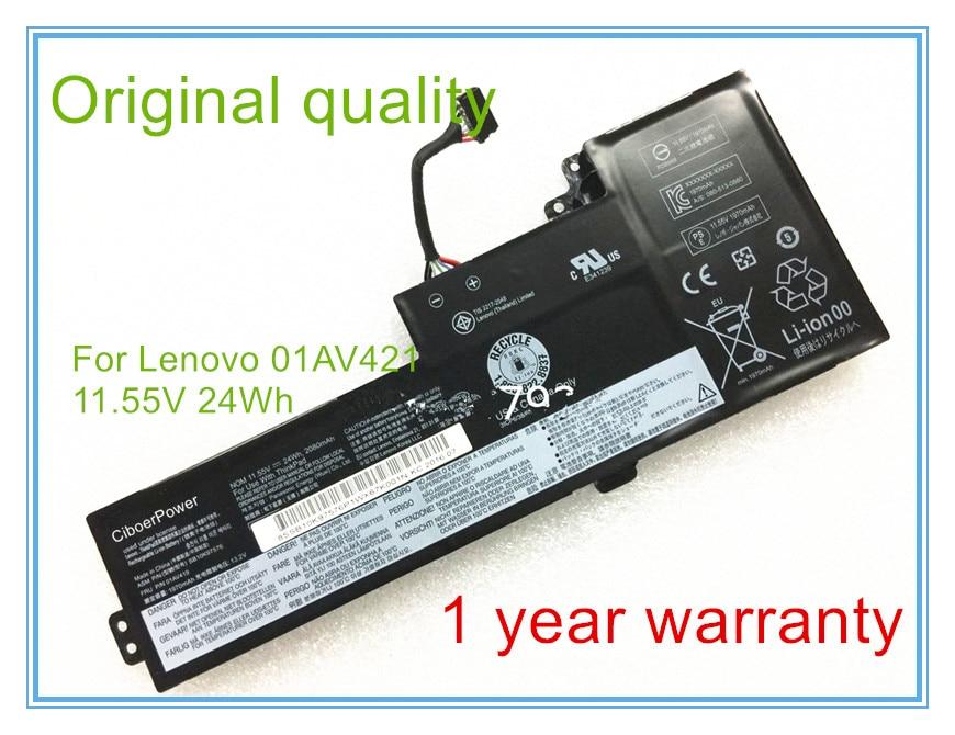New 24Wh original Built-in Battery for T470 01AV419 01AV421 01AV420 SB10K97576