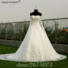 Real Photo Elegant Luxury Ball Gown Off The Shoulder Wedding Dresses