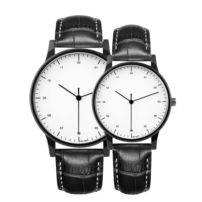 gift Enmex brief lover wristwatch Deployment buckle creative designs  Trend of Europe and  America fashion quartz couple watches hot men women gift enmex brief steel band creative geometric designs floating pointer 3d dail with young fashion quartz watches