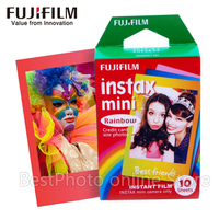10 листов Fujifilm Fuji Instax Mini 8 пленка Радуга мгновенная камера для 8 7 s 7 50 s 50i 90 25 dw Share SP-1 камера фотобумага