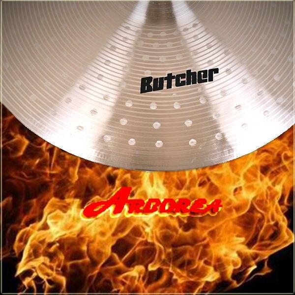 Arborea Handmade Cymbal Butcher  series 8 splash handmade b20 cymbal dragon 16 o zone cymbal