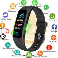 BANGWEI 2018 New Smart Ladies Watch Men Waterproof Sport Fitness Blood Pressure Heart Rate Monitor Digital Clock+Box