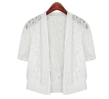 Womens Summer Loose Floral Shawl  Tops