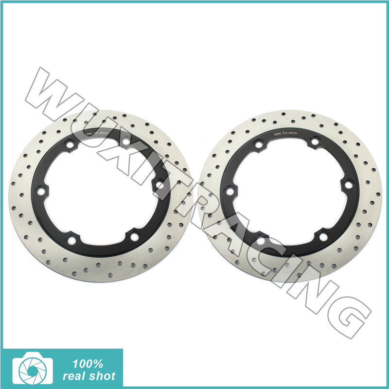 Front Brake Disc Rotor for Honda CBR 250 F R Hurricane 86-88 NS250R F 84-86 VT250 F2 Integra NSR400 85-87 VFR400Z VF500F 83-87 mf2300 f2