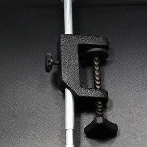 Image 4 - Royal Sissi étau de fixation de mouche de haute qualité avec poignée en c pince durcir les mâchoires en acier précision double roulement à billes étau de pêche à la mouche rotatif