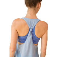2017 Summer Sexy Women Tank Tops Female Dry Quick Loose Fitness Vest Singlet For Exercise Women