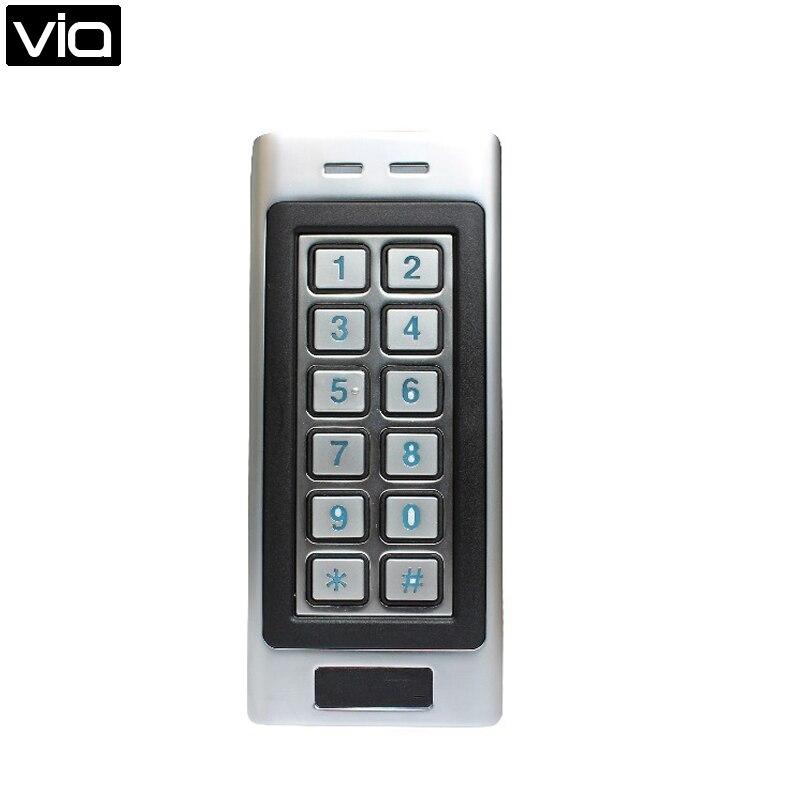 SK4-RID livraison gratuite basse température de travail clavier extérieur W/125 KHz RFID lecteur de carte