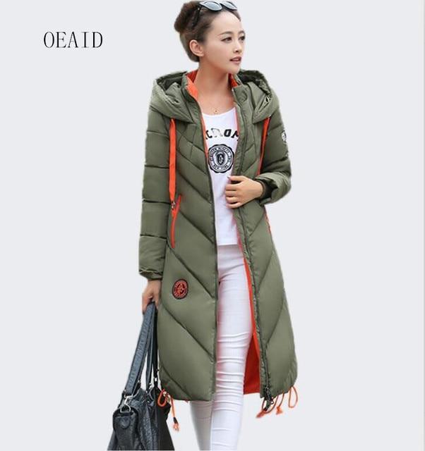 Aliexpress.com : Buy OEAID Fashion Snow Ladies Coats Army Green ...