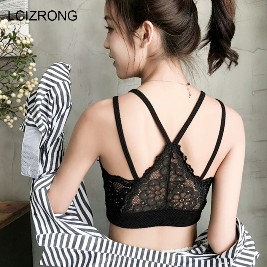 Summer Sexy Butterfly Embroidery Women Lace   Tops   Vest Hollow Camisole Cool Woman   Tank     Tops   Beach Harajuku Crop   Tops   2018 New
